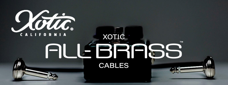Xotic all-brass cable